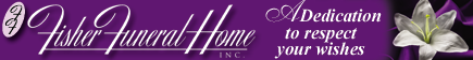 Fisher Funeral Home Inc. logo